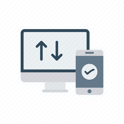 device, gadget, monitor, screen icon
