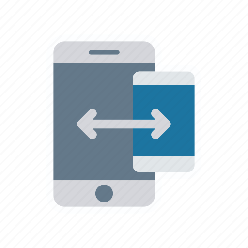device, gadget, mobile, transfer icon