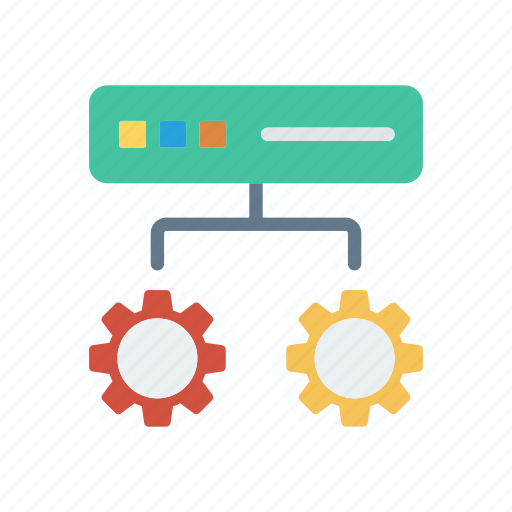 configuration, moden, router, setting icon