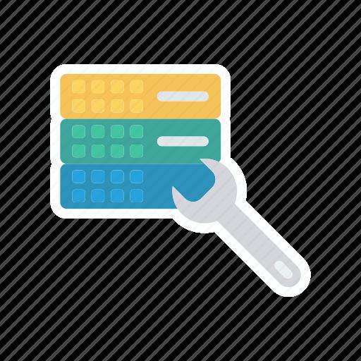 repair, server, setting, storage icon