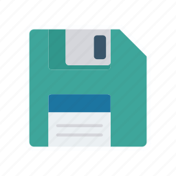 chip, disc, floppy, save icon