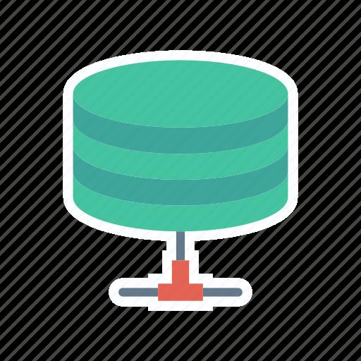 database, mainframe, server, storage icon