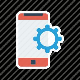 configuration, device, mobile, setting icon