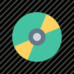 cd, disc, dvd, multimedia icon