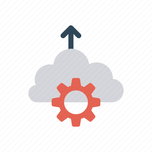 cloud, cofiguration, computing, setting icon