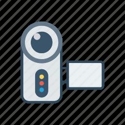 camera, dslr, handicam, photography icon
