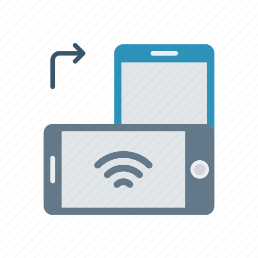 device, mobile, rotate, screen icon