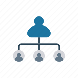 connection, group, network, team icon