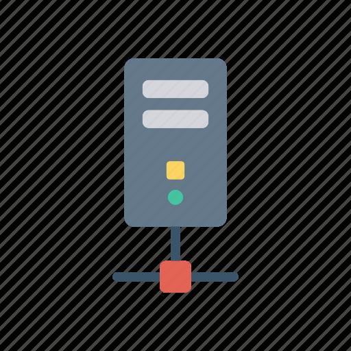 computer, mainframe, pc, server icon