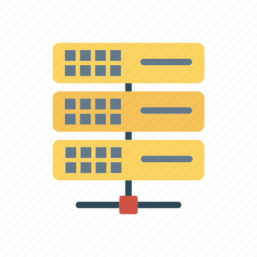 datacenter, server, share, storage icon