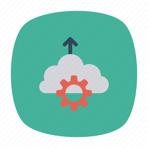 cloud, cofiguration, computing, setting icon
