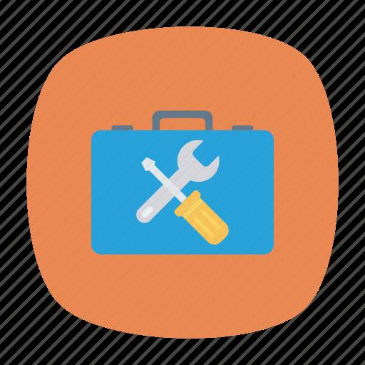 kit, medical, repair, setting icon