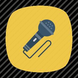 mic, mike, speaker, voice icon