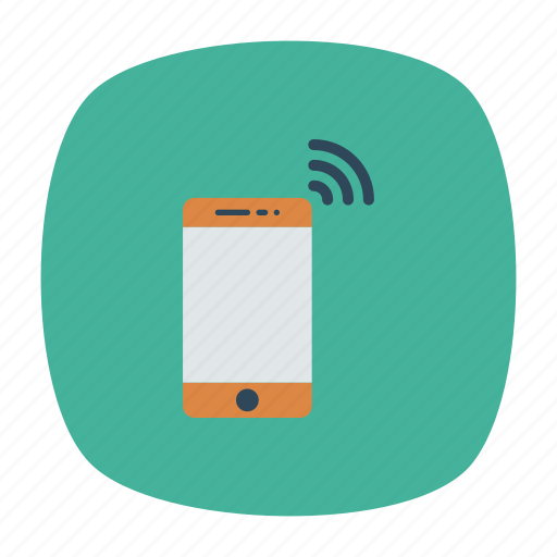 device, mobile, phone, wireless icon