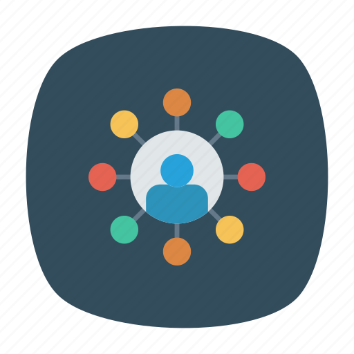 connection, group, network, user icon