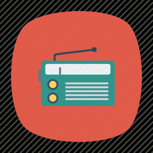 audio, music, radio, tape icon