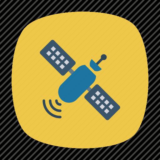 broadband, dish, satellite, technology icon