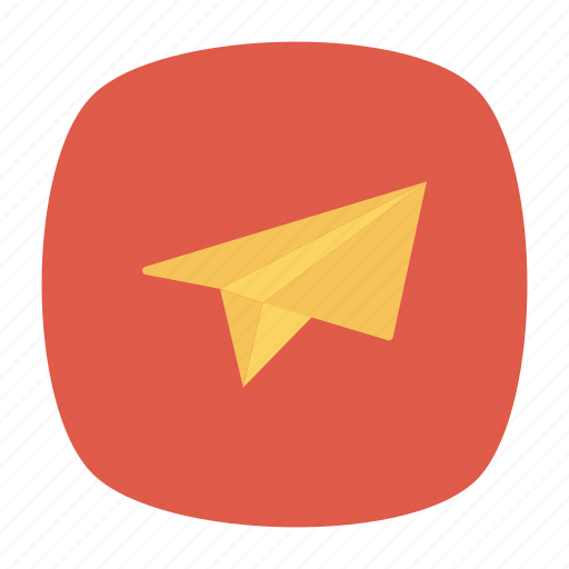 email, letter, paperplane, send icon