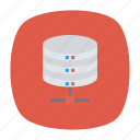 datacenter, mainframe, server, storage icon