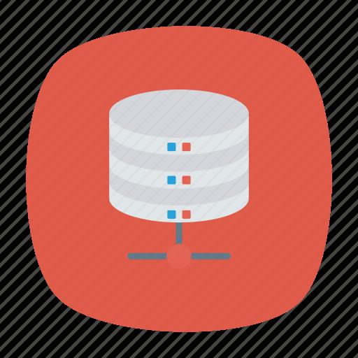 datacenter, mainframe, server, storage icon