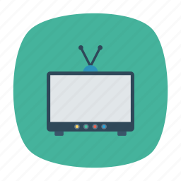 display, monitor, screen, televsion icon