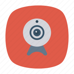 camera, device, photo, webcam icon