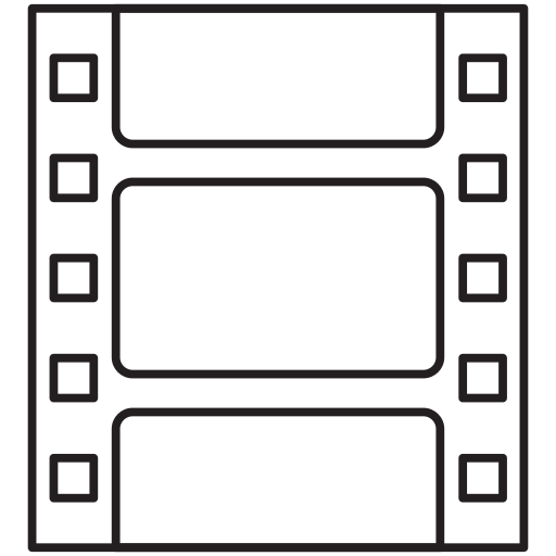 movie, recording, tape icon