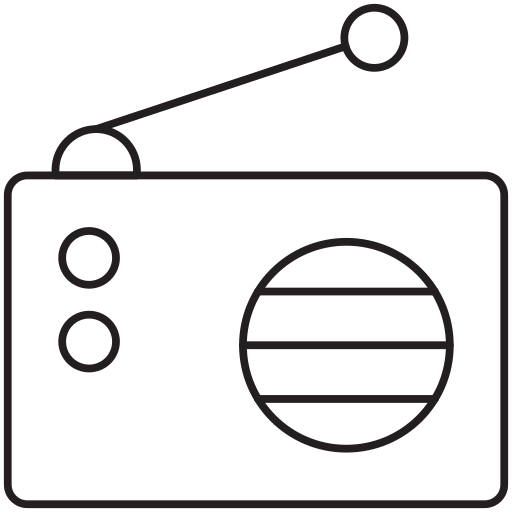 communication, radio, voice icon
