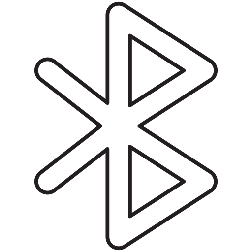 bluetooth, connection, technology icon
