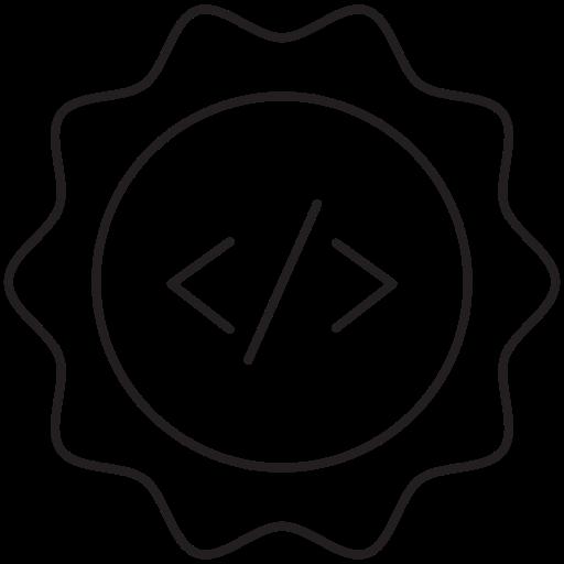 coding, prize icon
