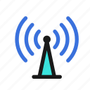 signal, network, tower, wifi, router, modem, hotspot