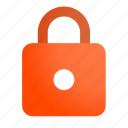 denied, locked, locking, secure icon