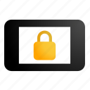 phone locked, phone security icon