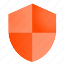 access denied, protection, shield icon