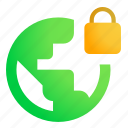information protection, international security, lock, security lock icon