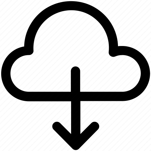 cloud computing, cloud download, cloud downloading, cloud network, downloading icon icon
