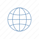 earth, globe, planet, transit icon icon