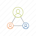 collaboration, group, network, team, teamwork icon icon