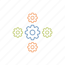 configure, gears, grear, setting icon icon