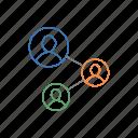 building, relationship, team, team work, work icon icon