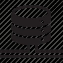 device, network, server, storage icon