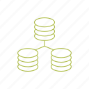 network, networking, server icon icon