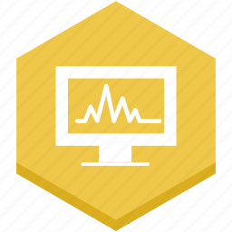 business, chart, computer, graphic, interface, monitor, stats icon