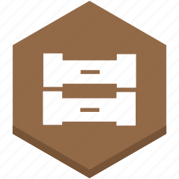 box, data, symbol, tool, tray, trays, two icon