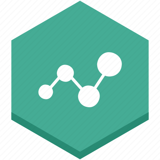 analytics, business, chart, circles, data, interface, lines icon