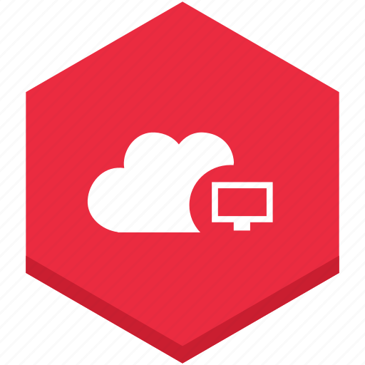 cloud, computer, interface, internet, monitor, symbol icon