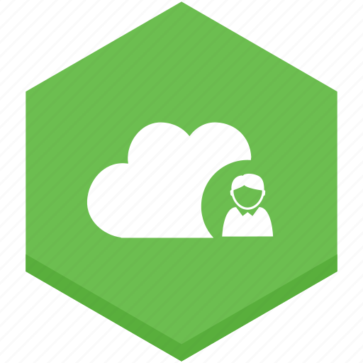 cloud, interface, internet, person, staff, symbols icon