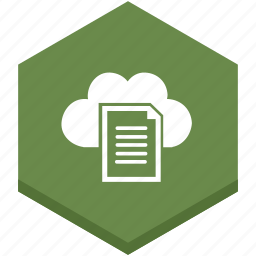 cloud, document, documents, file, internet icon