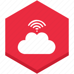 cloud, connected, connection, interface, internet, signal, symbol icon