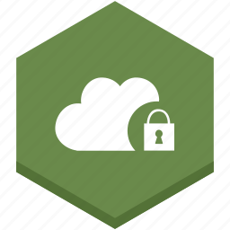 cloud, internet, lock, protect, protection, security, symbol icon